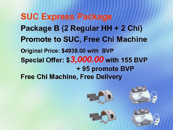SUC Express Package B (2 Regular HH + 2 Chi) Promote to SUC, Free