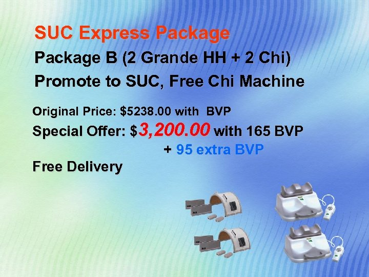 SUC Express Package B (2 Grande HH + 2 Chi) Promote to SUC, Free
