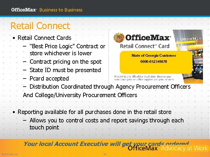 "Retail Connect • Retail Connect Cards – ""Best Price Logic"" Contract or store whichever"