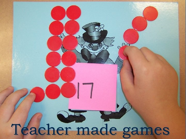 Teacher made games