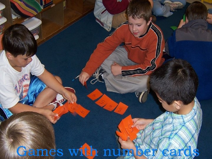 Games with number cards