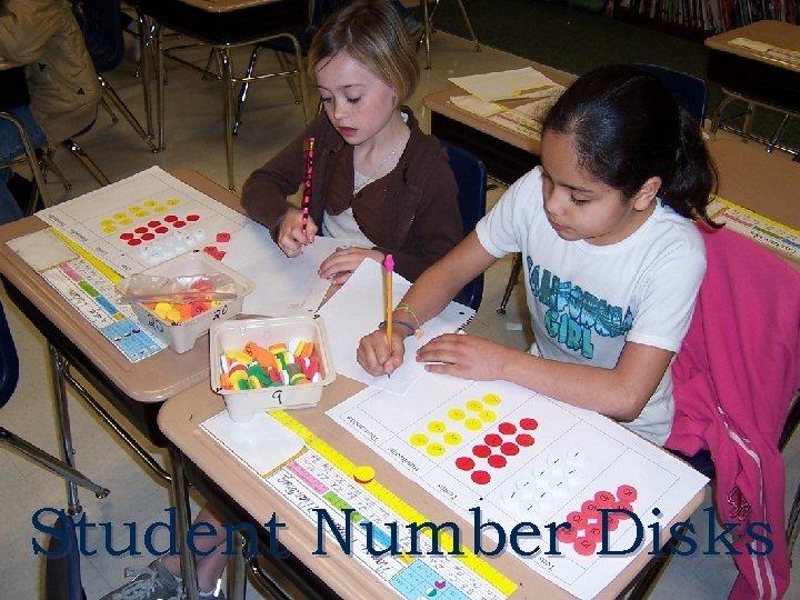 Student Number Disks