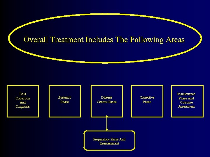 Overall Treatment Includes The Following Areas Data Collection And Diagnosis Systemic Phase Disease Control
