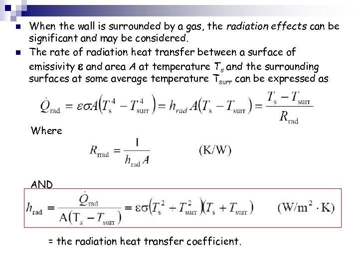 Steady Heat Conduction In Plane Walls Ch 3