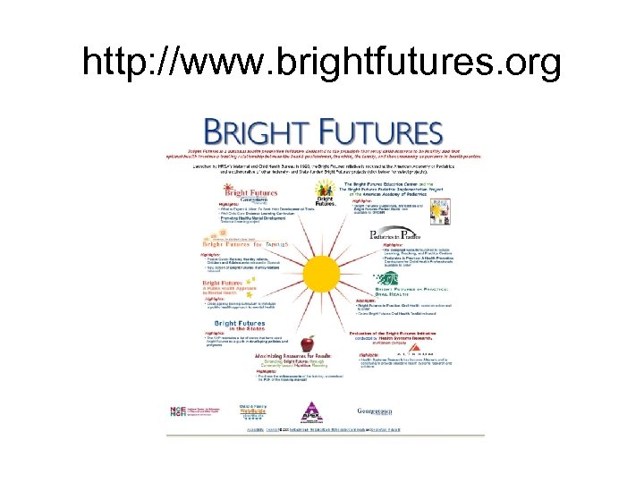 http: //www. brightfutures. org