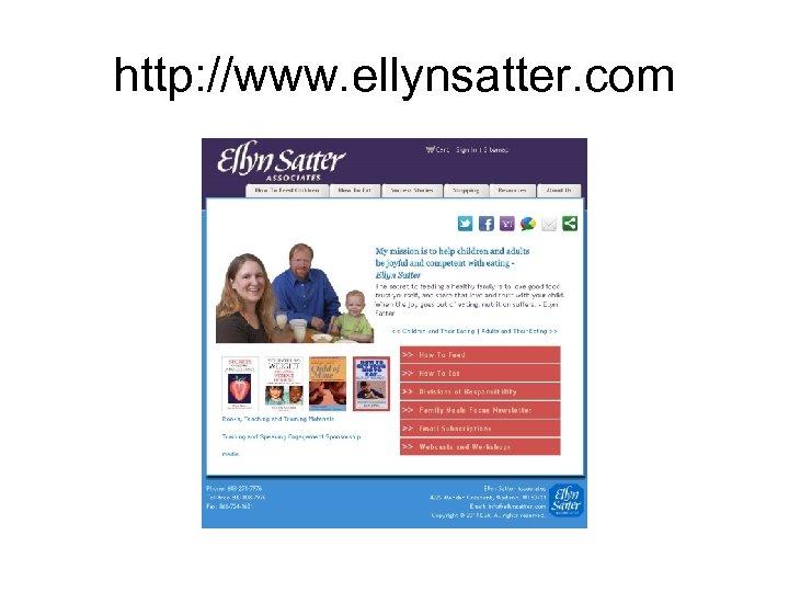 http: //www. ellynsatter. com