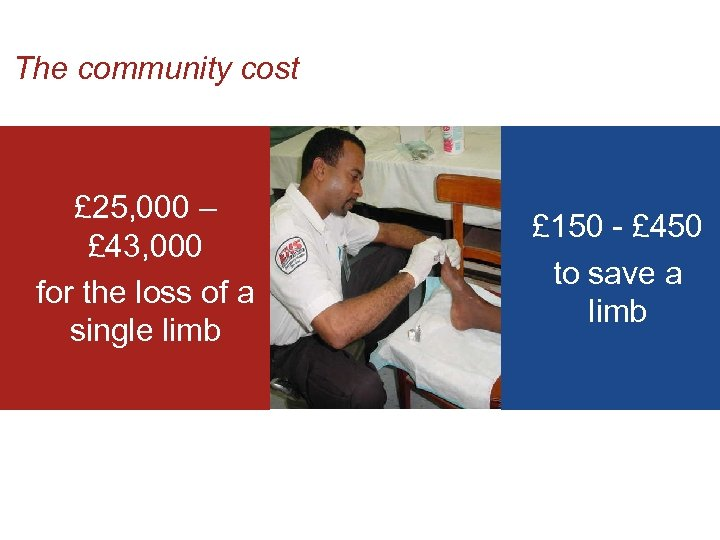 The community cost £ 25, 000 – £ 43, 000 for the loss of