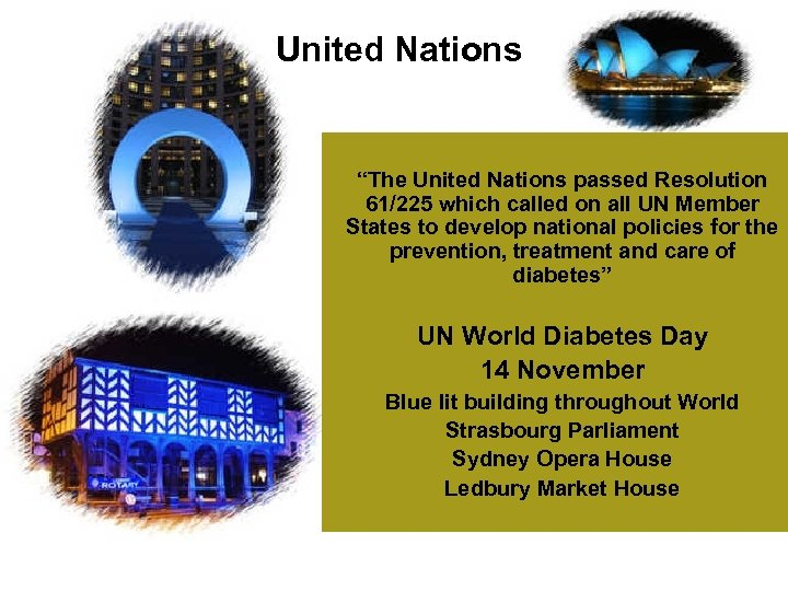 "United Nations ""The United Nations passed Resolution 61/225 which called on all UN Member"