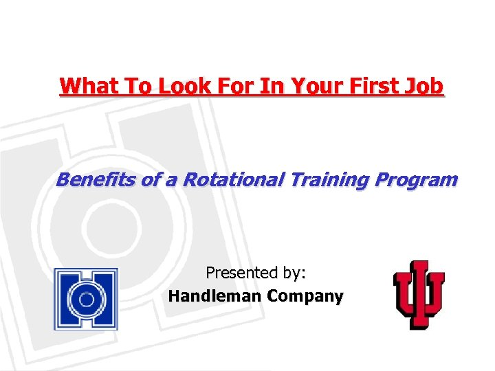 What To Look For In Your First Job Benefits of a Rotational Training Program