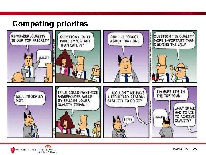 Competing priorites 23