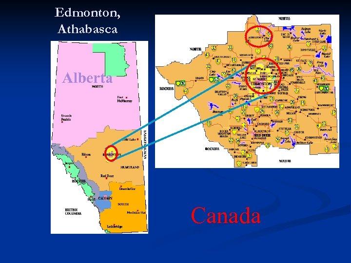 Edmonton, Athabasca Alberta Canada