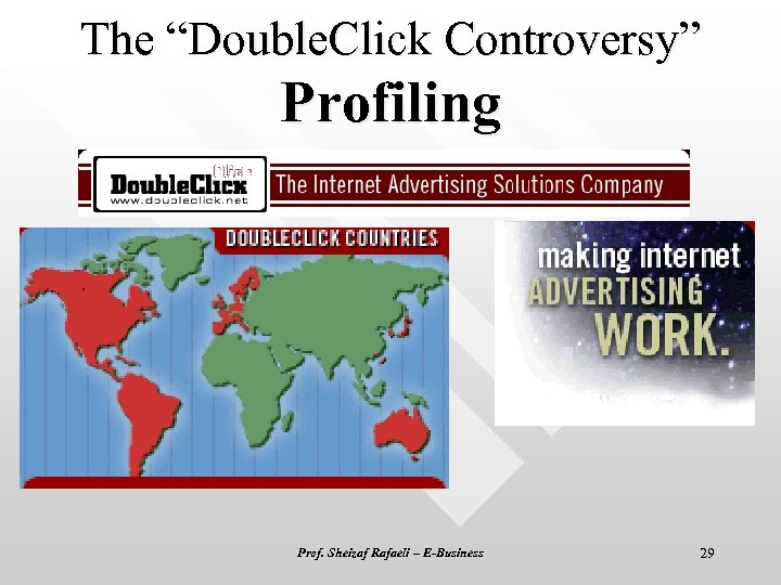 "The ""Double. Click Controversy"" Profiling Prof. Sheizaf Rafaeli – E-Business 29"