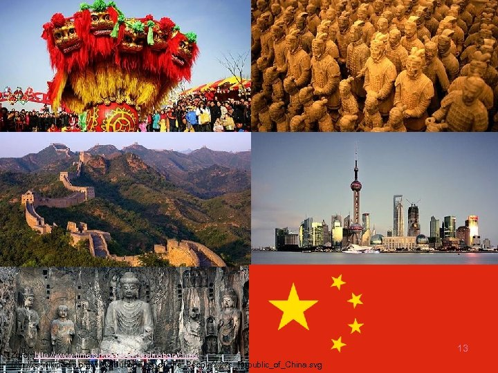 Zdroj: http: //www. timeforkids. com/destination/china; http: //cs. wikipedia. org/wiki/Soubor: Flag_of_the_People%27 s_Republic_of_China. svg 13