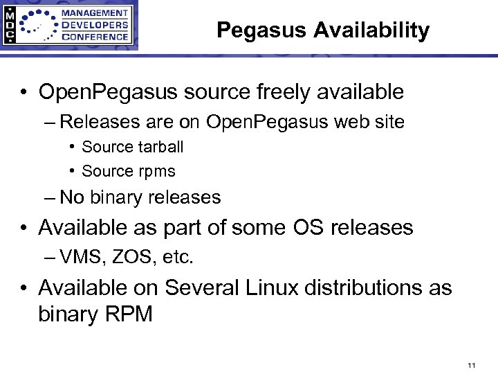 Pegasus Availability • Open. Pegasus source freely available – Releases are on Open. Pegasus