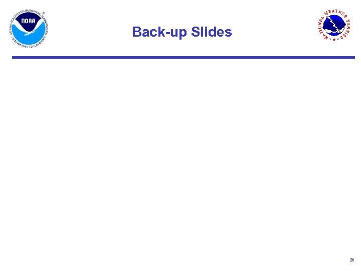 Back-up Slides 26