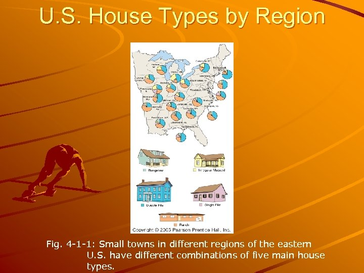 U. S. House Types by Region Fig. 4 -1 -1: Small towns in different