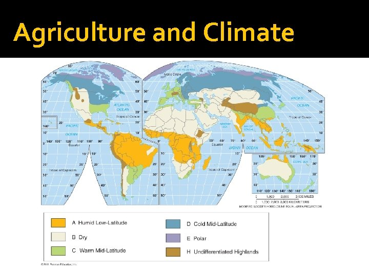 Agriculture and Climate