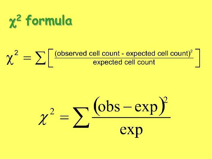 2 c formula