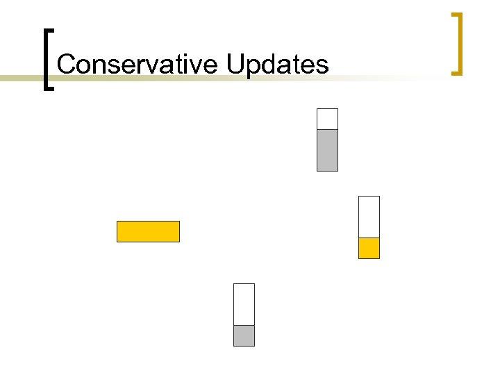 Conservative Updates