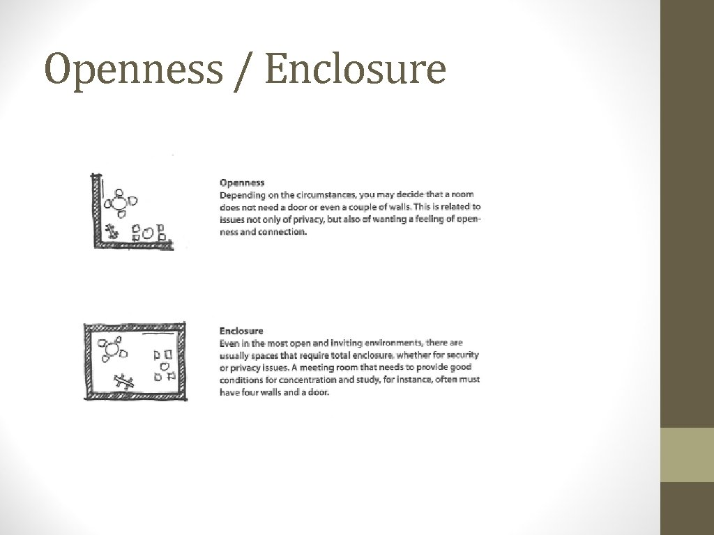 Openness / Enclosure