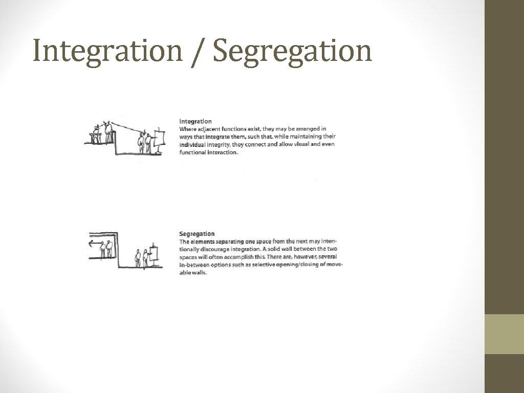 Integration / Segregation