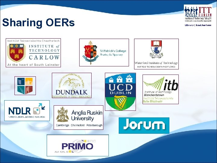 Sharing OERs