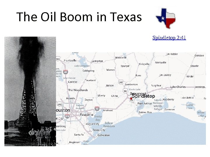 The Oil Boom in Texas Spindletop 2: 41