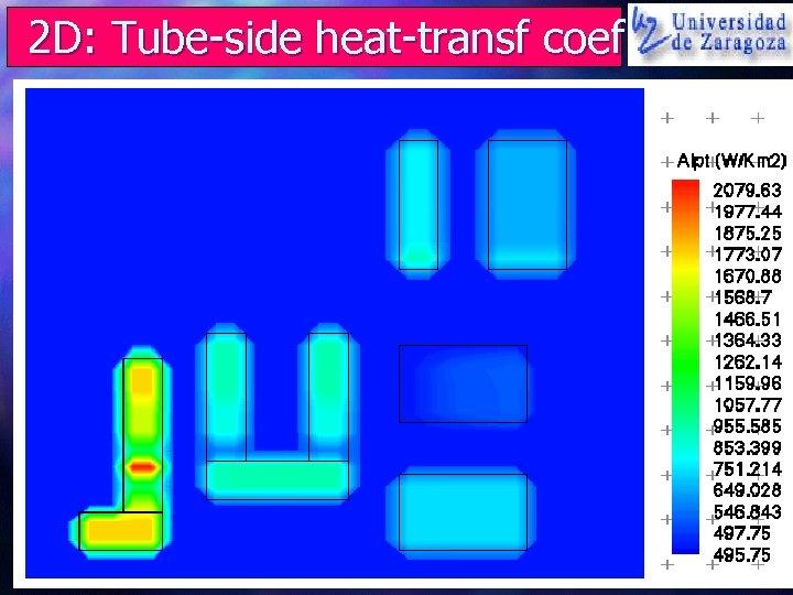2 D: Tube-side heat-transf coef