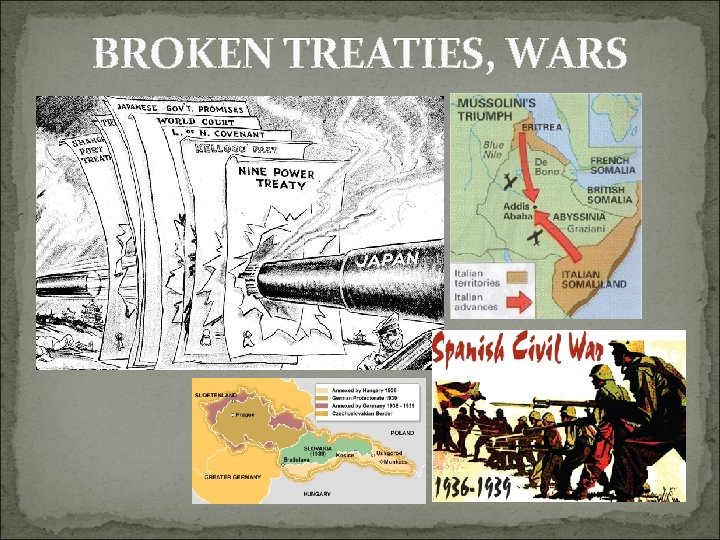 BROKEN TREATIES, WARS