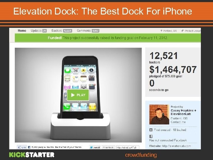 Elevation Dock: The Best Dock For i. Phone Dock for the i. Phone phone
