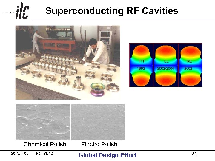 Superconducting RF Cavities Chemical Polish 20 April 06 P 5 - SLAC Electro Polish