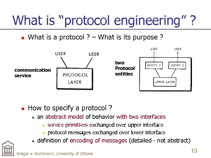 "What is ""protocol engineering"" ? n What is a protocol ? – What is"