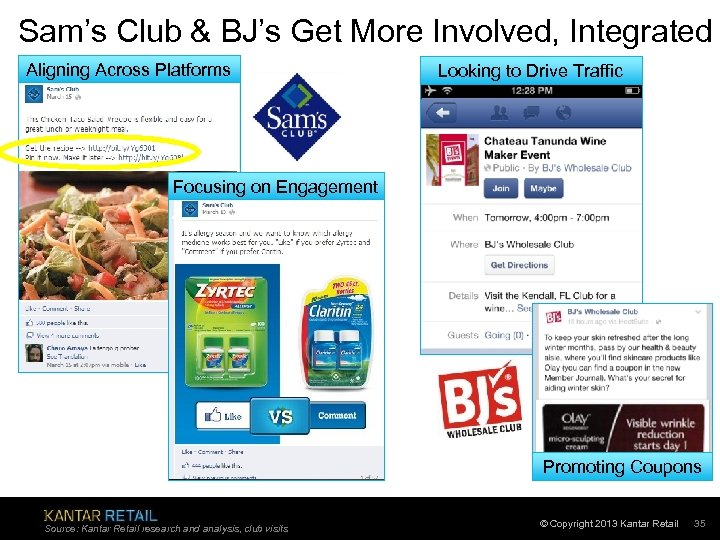 Sam's Club & BJ's Get More Involved, Integrated Aligning Across Platforms Looking to Drive