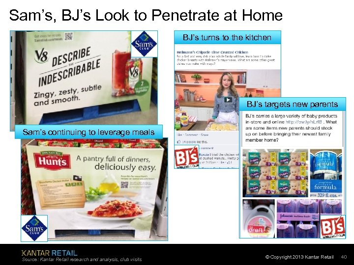 Sam's, BJ's Look to Penetrate at Home BJ's turns to the kitchen BJ's targets