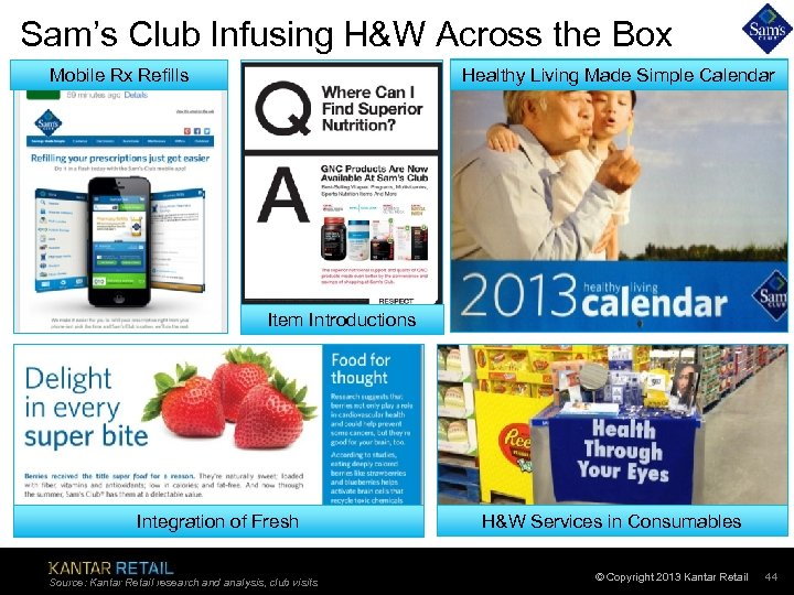 Sam's Club Infusing H&W Across the Box Mobile Rx Refills Healthy Living Made Simple