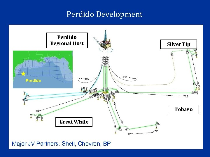 Perdido Development Perdido Regional Host Silver Tip Perdido Tobago Great White Major JV Partners:
