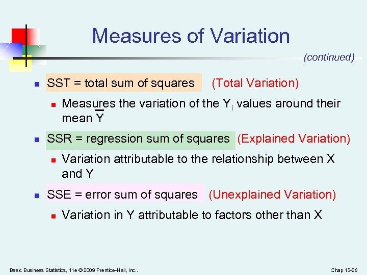 Industrial Statistics 2 Simple Linear Regression Basic
