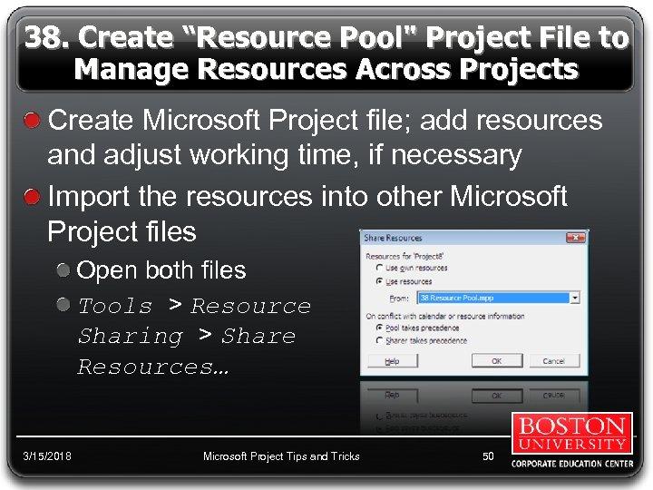 "38. Create ""Resource Pool"