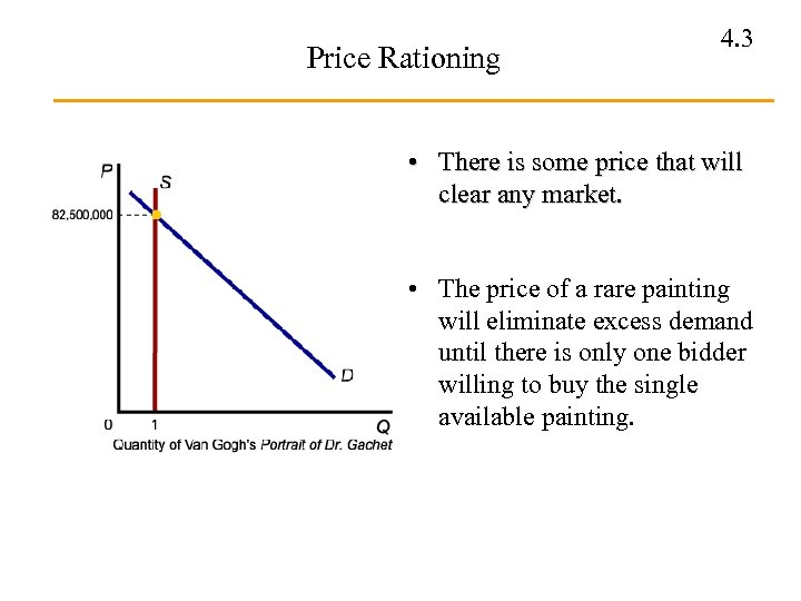 Price Rationing 4. 3 • There is some price that will clear any market.