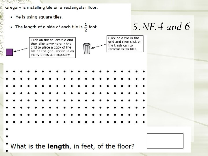 5. NF. 4 and 6 34