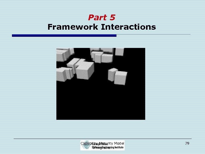 Part 5 Framework Interactions Capability Maturity Model Integration 79