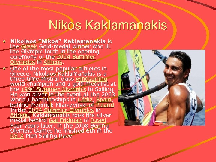 Nikos Kaklamanakis Nikolaos