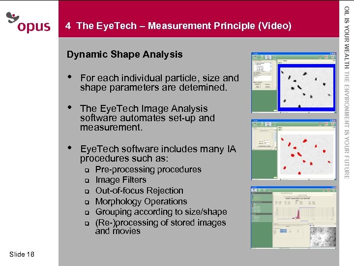 Dynamic Shape Analysis • For each individual text styles · Click to edit Master