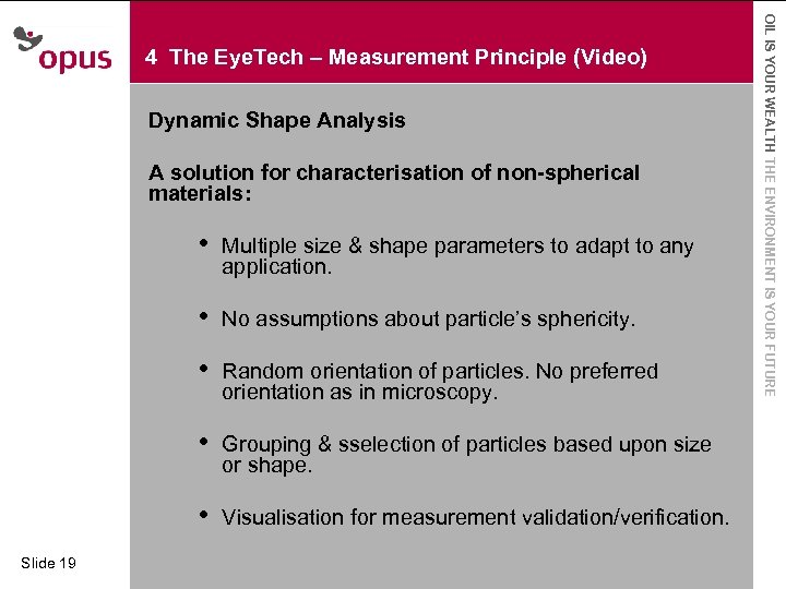 Dynamic Shape Analysis A Click to for characterisation · solutionedit Master text styles of