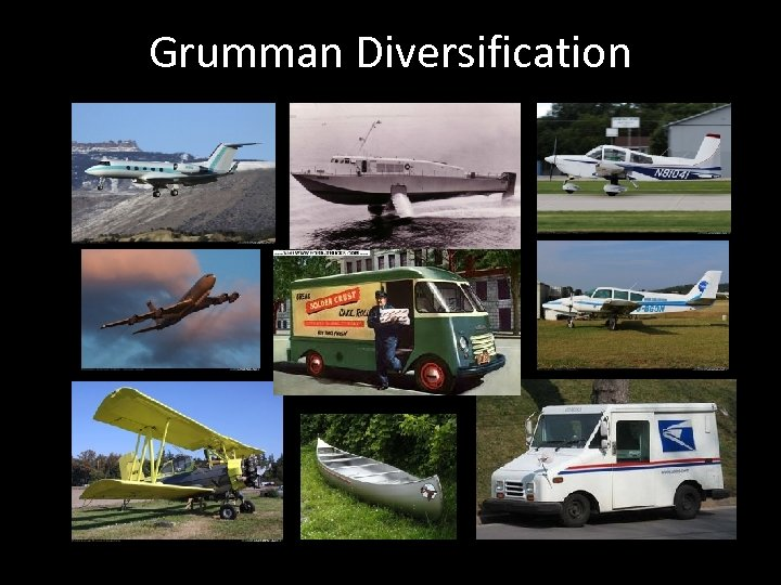 Grumman Diversification