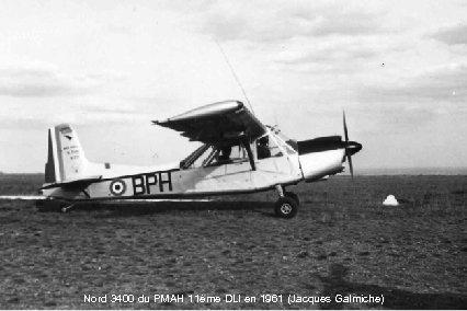 Nord 3400 du PMAH 11ème DLI en 1961 (Jacques Galmiche)