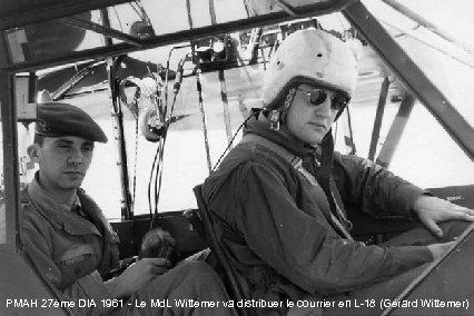 PMAH 27ème DIA 1961 - Le Md. L Wittemer va distribuer le courrier en