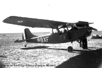 L-19 du 1 er PA TOS à El-Abiod (François Michelot)