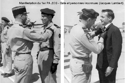Manifestation du 1 er PA ZOS - Date et personnes inconnues (Jacques Lambert)