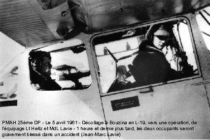 PMAH 25ème DP - Le 5 avril 1961 - Décollage à Bouzina en L-19,